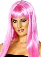 Mystique perruque rose Perruque Glamour Ladies