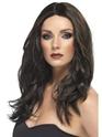 Perruque Glamour Ladies Superstar perruque brun foncé