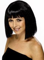Coquette perruque noir Perruque Glamour Ladies