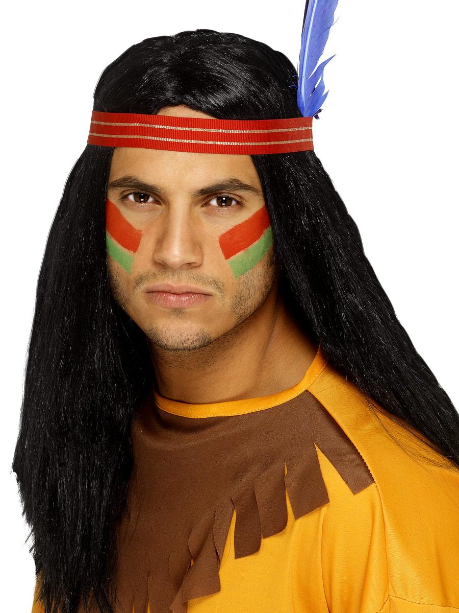 Perruque Indiens Perruque Brave indien