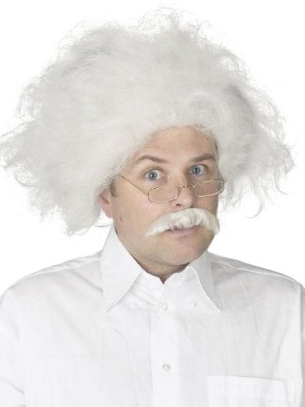 Perruques Homme Moustache et perruque d'Albert Einstein