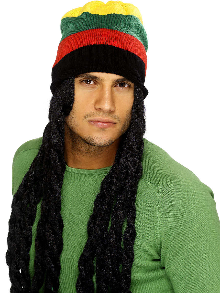 Perruques Homme Chapeau Rasta