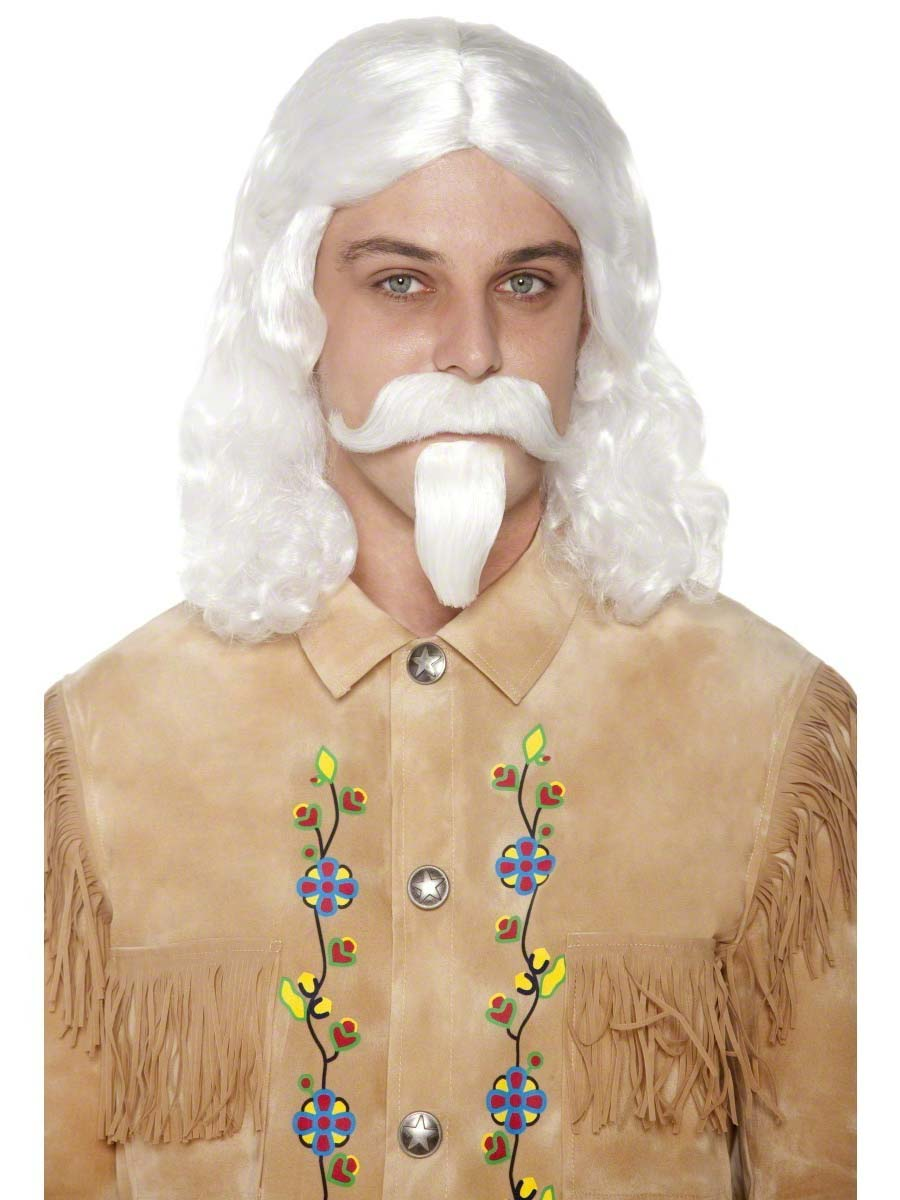 Perruques Homme Buffalo Bill perruque Moustache & barbe