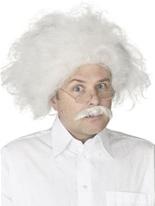 Moustache et perruque d'Albert Einstein Perruques Homme