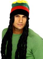 Chapeau Rasta Perruques Homme