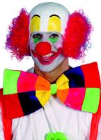 Tête de clown en caoutchouc Perruques Homme
