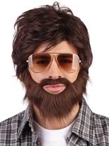La gueule de bois Alan Wig & Moustache  Perruques Homme