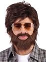 Perruques Homme La gueule de bois Alan Wig & Moustache
