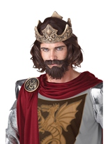 Perruque de roi médiéval Perruques Homme