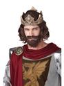 Perruques Homme Perruque de roi médiéval
