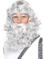 Barbe et perruque de Zeus Perruques Homme