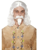 Buffalo Bill perruque Moustache & barbe Perruques Homme