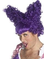 Laide s?ur perruque violet Perruques Homme