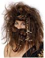 Perruques Homme Perruque homme des cavernes et barbe Set