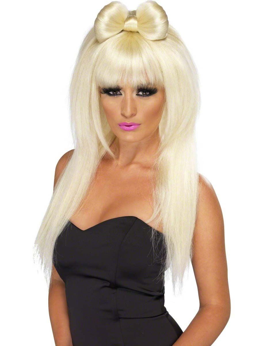 Perruque Star de la Pop Pop Sensation Lady Ga Ga perruque Blonde