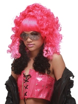 Nicki Minaj perruque rose Perruque Star de la Pop
