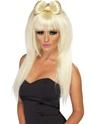 Perruque Star de la Pop Pop Sensation Lady Ga Ga perruque Blonde
